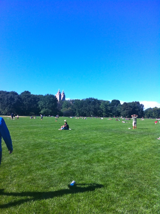 The Great Lawn @ Central Park, NYC