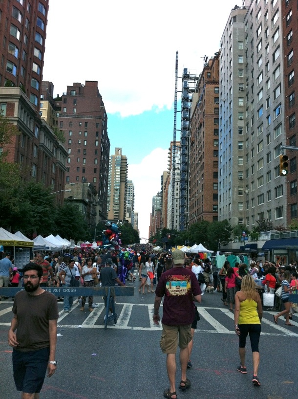 Street Fair on 3rd Avenue
